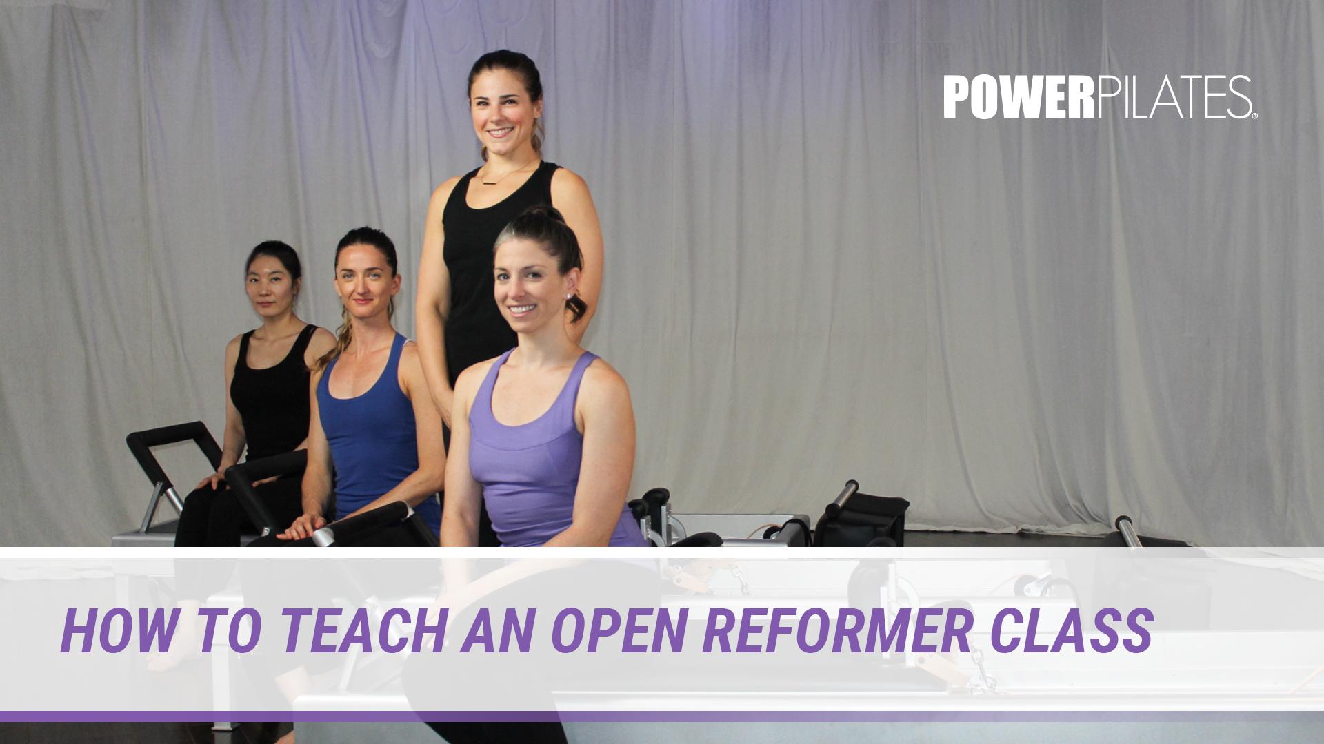 Online Workshop Video - How to Teach an Open Level Reformer Class