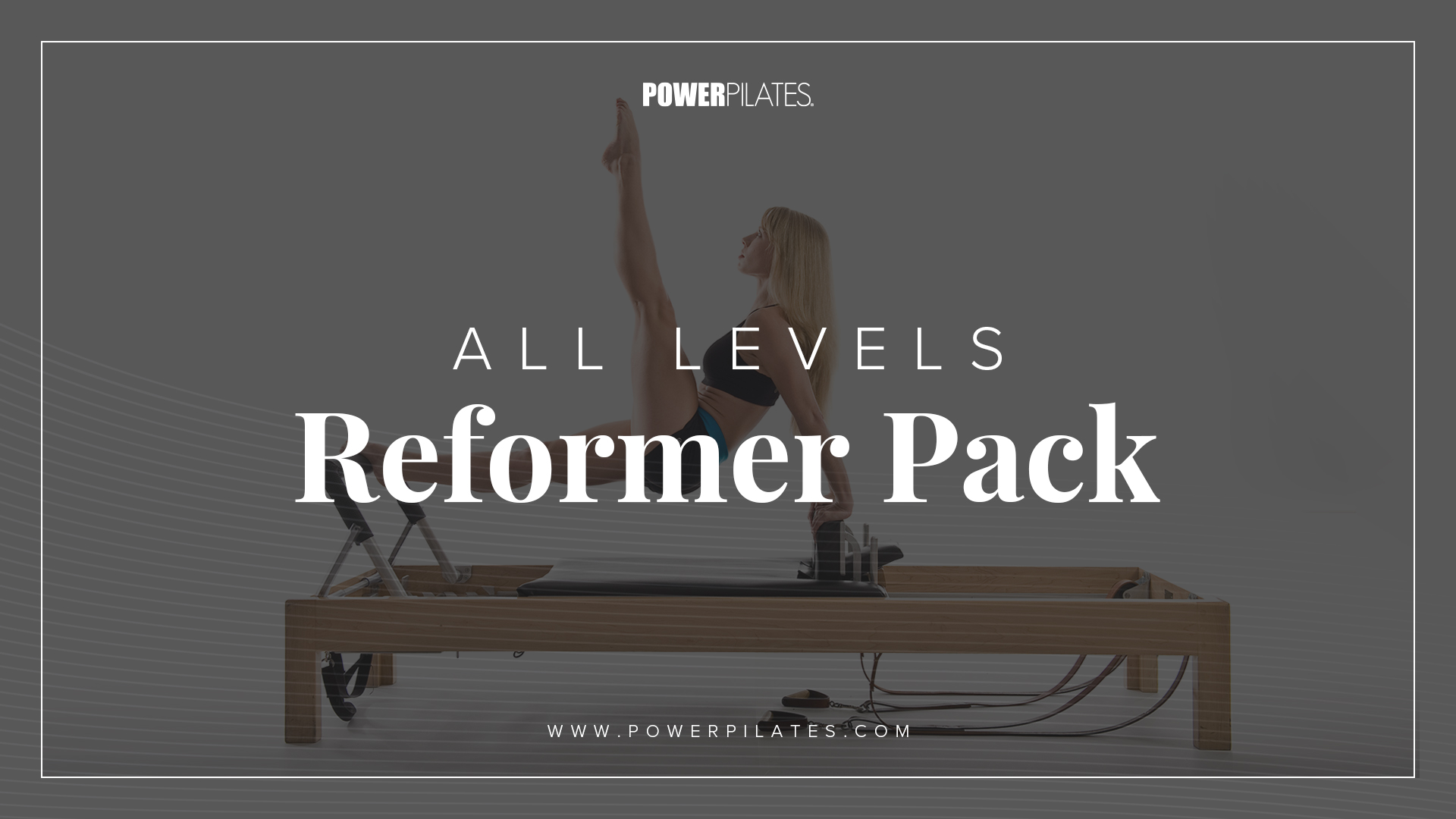 Online Workshop Video - All Levels Reformer Pack